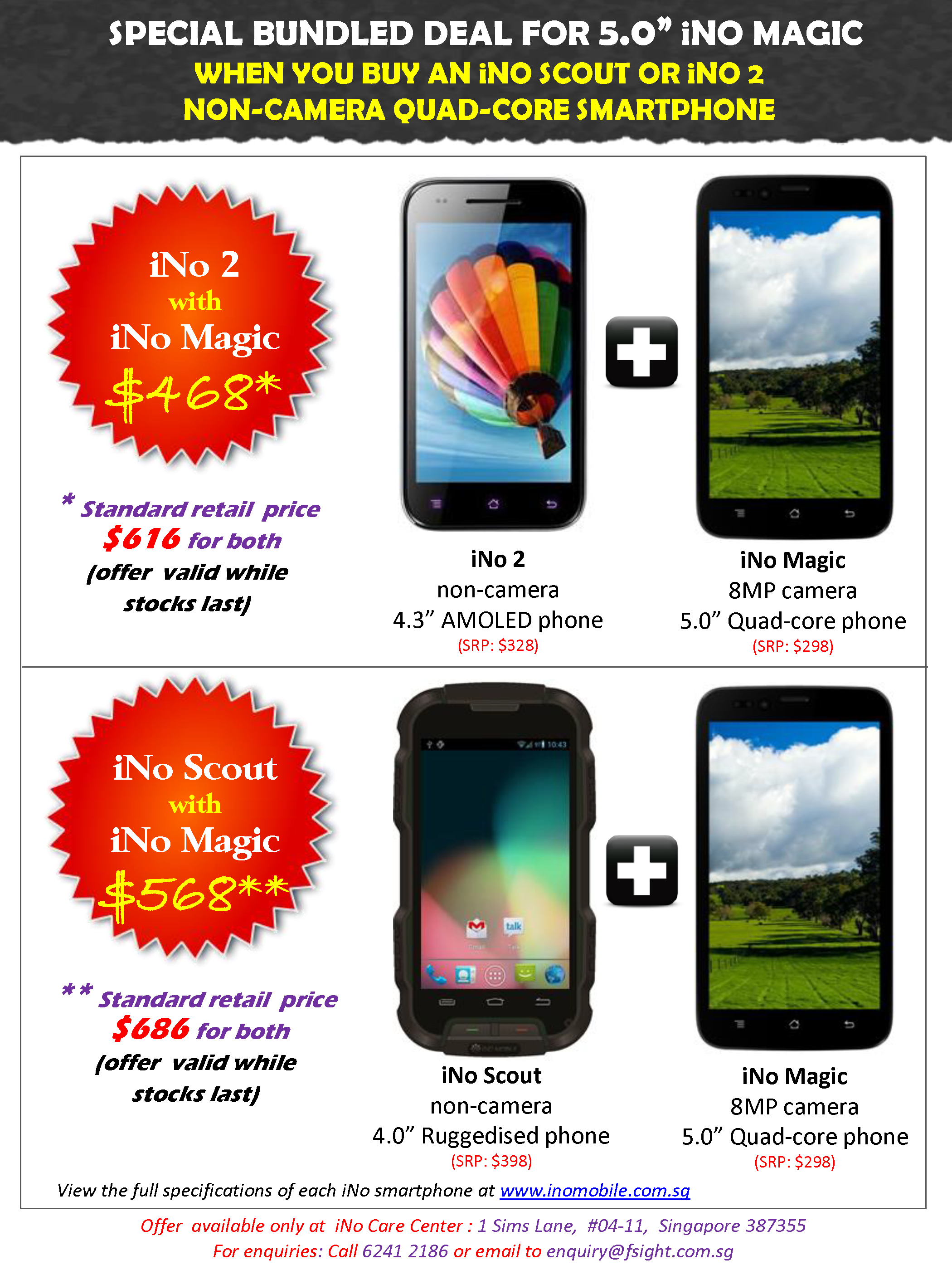 Ino Scout Plus Smartphone Bundle Saf Intranet Offer Apr Page